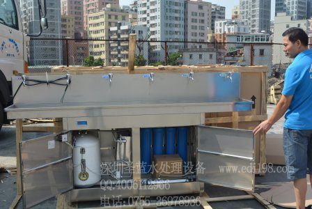 不锈钢饮水机内部实物图