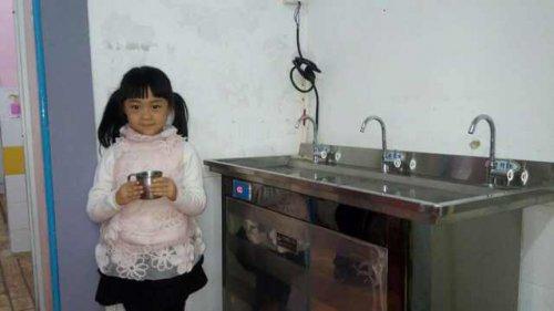 关爱饮水健康从小开始-圣蓝幼儿园饮水机